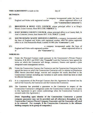 novation agreement 9 sle novation agreements sle templates
