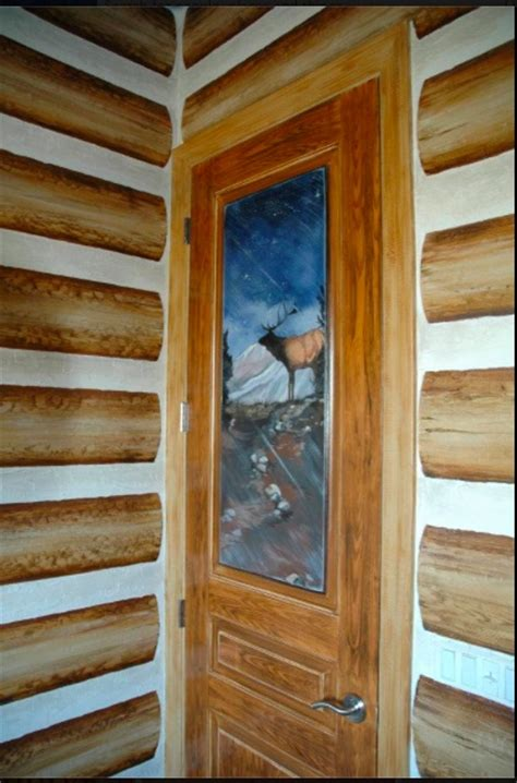 Faux Log Cabin Walls by 10 Best Faux Paint Finishes Images On