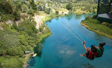 bungee swing new zealand bungy jumping huka lodge