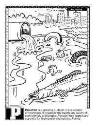 abcs coloring book pollution schoolfamily