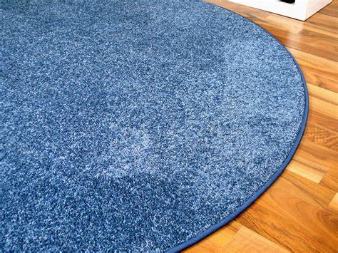 flur teppich rund teppich rund blau gamelog wohndesign