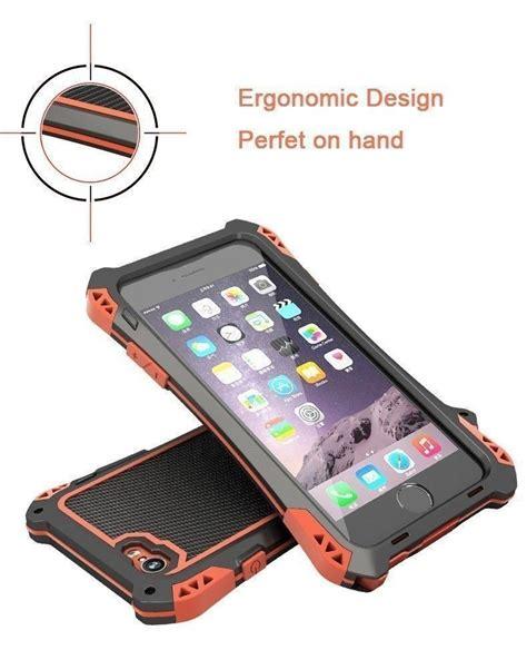 r just 174 apple iphone 6 plus 6s plus amira carbon fiber shockproof dustproof water
