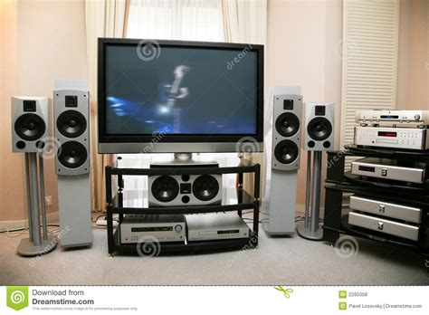 Home Theatre Stock Photo 169 Home Theater Royalty Free Stock Photos Image 2265058