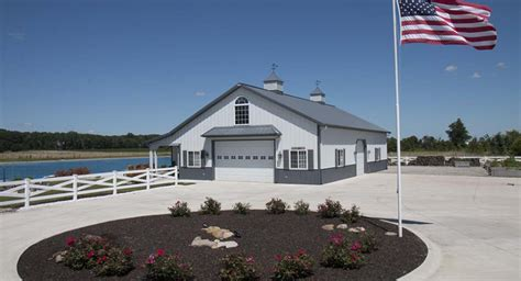 Barn Plans With Living Space Unique Lakeside Metal Storage Building Metal Building Homes