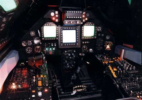 Lockheed USAF F-117 Nighthawk Stealth Aircraft Pictures ... F 117 Stealth Fighter Cockpit