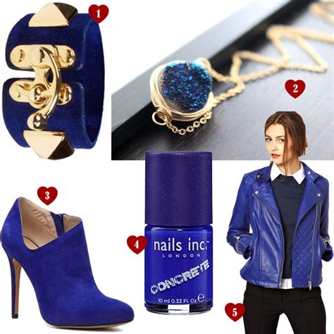 2 Die 4 Yochi Cobalt Rock Cocktail Ring by List Of Lusts Blue Yonder Beautyholics Anonymous