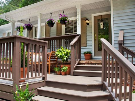 front deck designs for houses deck maintenance tips hgtv