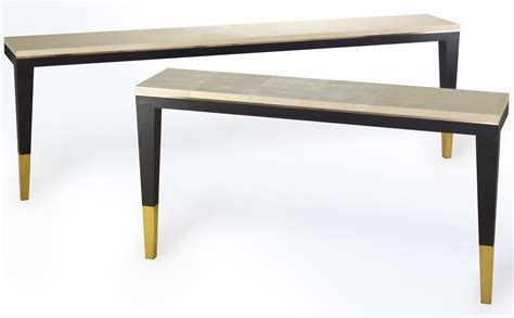 shagreen console table bespoke global product detail and shagreen