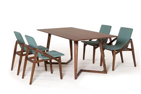 walnut dining table modern modrest jett contemporary walnut dining table timeless