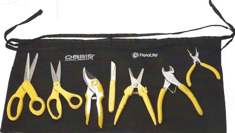 design and drill flower flower classroom floral design tools and work apron 125 00