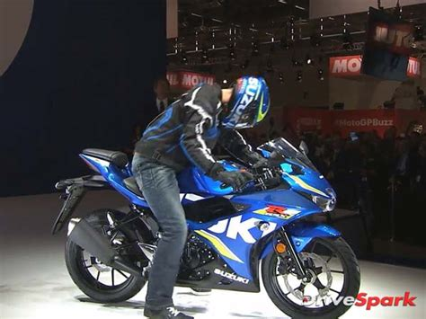 Suzuki Gsxr 125cc 2016 Intermot Motorcycle Show Suzuki Gsx R125 Revealed