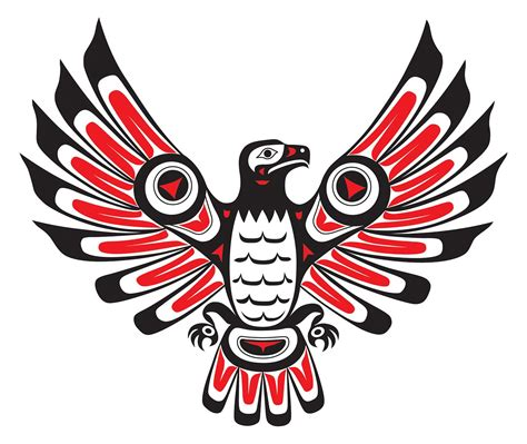alaskan tribal tattoos indians ha 239 da firebird totem and