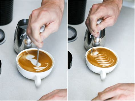 Latte Art at Home (the cheat sheet)   Hither & Thither