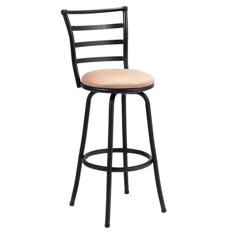 Counter Height Swivel Bar Stool Swivel Bar Stool Steel Frame Counter Height Modern Barstool Bistro Pub Chair New Ebay