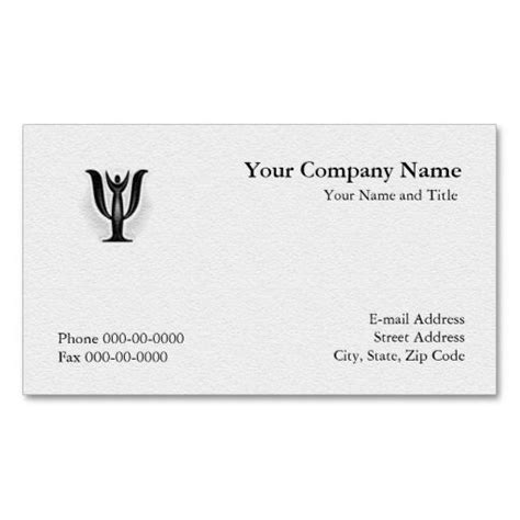 psychology business cards templates 231 best images about psychology business card templates