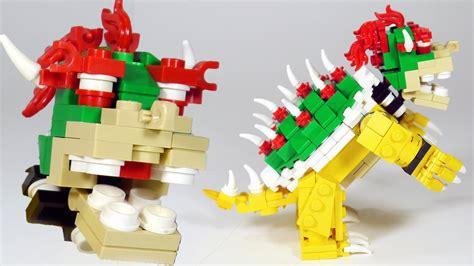 lego nes tutorial how to build lego bowser nintendo super mario super