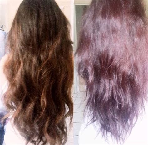 ion haircolor pucs before and after dying my hair sally s ion color