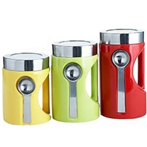 colorful kitchen canisters colors on the side and lighter on pinterest