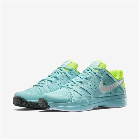 nike womens air vapor advantage tennis shoes light aqua