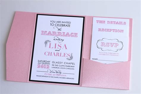 light pink and brown wedding invitations embellished paperie modern wedding invitation