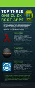 great root apps best one click root apps for android infographic hackersof