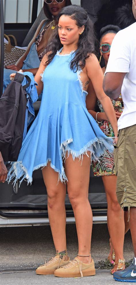 Fienty Rihanna 4 4 Rihanna S Barbados Boxing Day Marques Alemeida Frayed