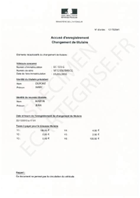 Modèle De Contrat De Gage Sans Dépossession accus 233 d enregistrement d une carte grise explications