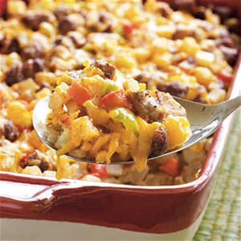 country breakfast casserole recipe myrecipes