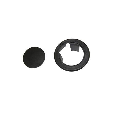Black Plastic Patio Umbrella Table Ring FPJ000001BP   The