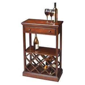 Floor Wine Rack by Shop Butler Specialty Plantation 8 Bottle Cherry