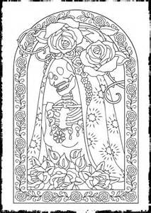 free printable day of the dead coloring pages best coloring pages for