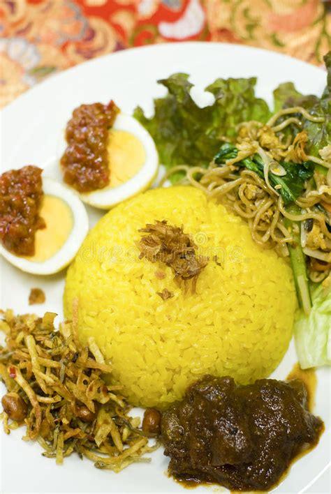 buat nasi kuning pakai rice cooker nasi kuning stock photo image of rice indonesia coconut