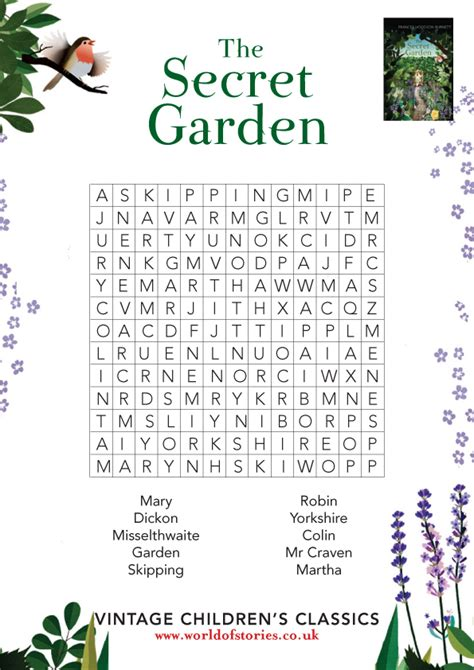 How To Do A Free Asset Search Secret Garden Wordsearch Scholastic Club