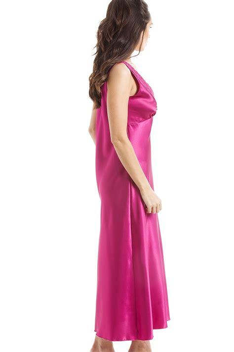 pink luxury luxury pink lace satin chemise