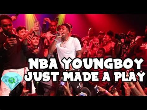 youngboy never broke again just made a play nba youngboy just made a play live performance shot