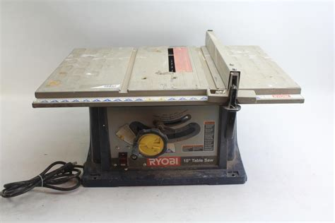 12 inch table l ryobi bts12s 10 inch table saw property room