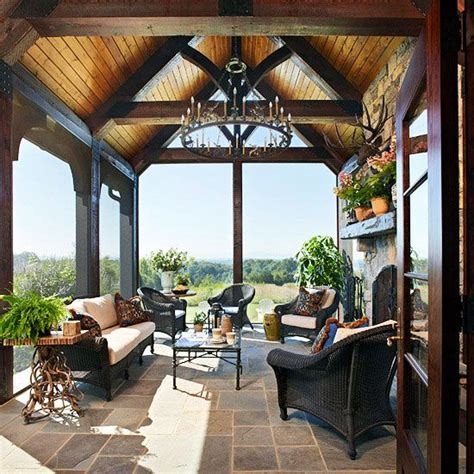 screen porch decorating ideas 1000 images about screened porch on pinterest wood