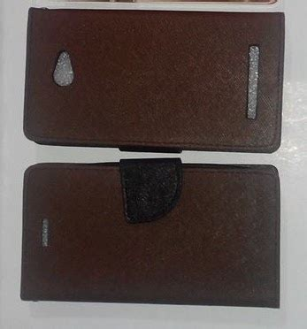 Flip Cover Andromax Q 1 jual leather andromax q jual flip cover flipcover