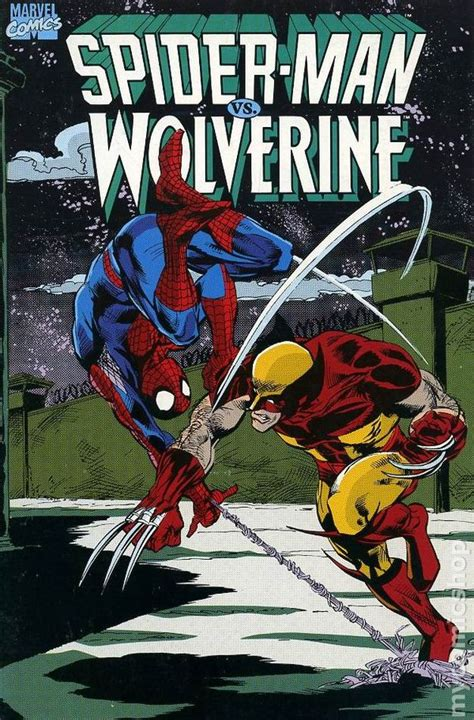 Astonishing Spider Wolverine Marvel Graphic Novel Ebook Spider Vs Wolverine Gn 1990 Marvel 2nd Edition