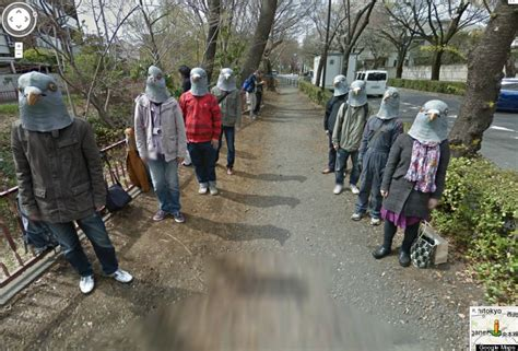google images japan japan s google street view pigeonheads are hilariously
