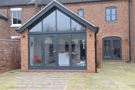House Plans With Great Kitchens how is the gable end glass supported