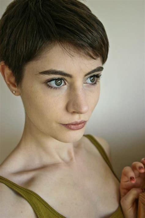 gamine haircut photos 25 best ideas about pixie cut back on pinterest growing