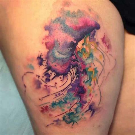 jellyfish tattoo 40 magnificent jellyfish tattoos tattooblend