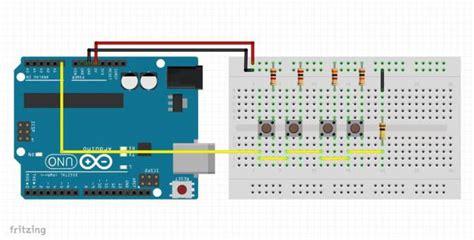 gewusst wie mehrfache tasten   analog pin arduino