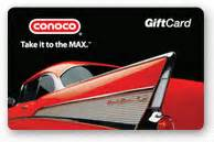 Conoco Gift Card - r h smith distributing company inc