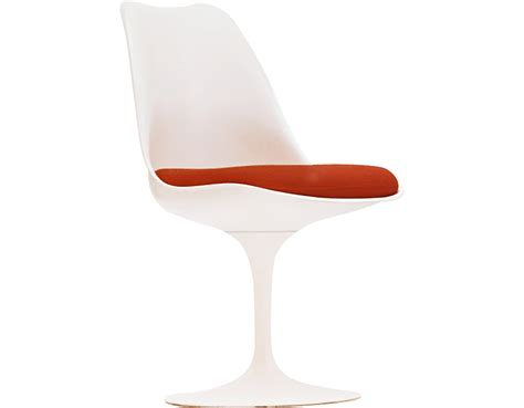 Saarinen Stuhl by Saarinen White Tulip Side Chair Hivemodern