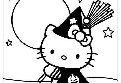 imagenes de hello kitty para halloween dibujos para colorear hello kitty halloween diablita