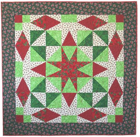 Patchwork Wreath Pattern - serendipity patchwork quilting festive quilts single
