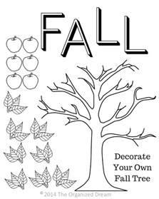free fall printables part 1 kid s activities the