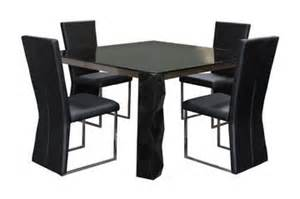black square dining room table modern dining room furniture sets add style and adventure